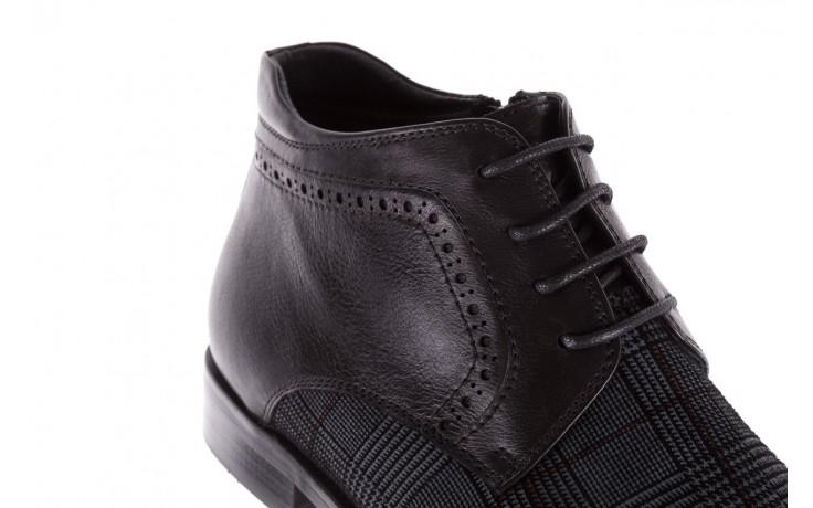 Półbuty brooman a2001-14-75-1-r black, czarny, skóra naturalna  - brooman - nasze marki 7