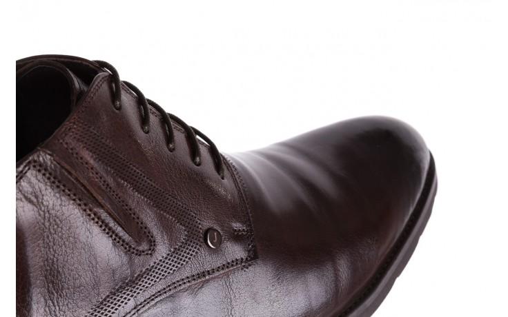 Półbuty john doubare h855-305-p3r brown, brąz, skóra naturalna  - brooman - nasze marki 6