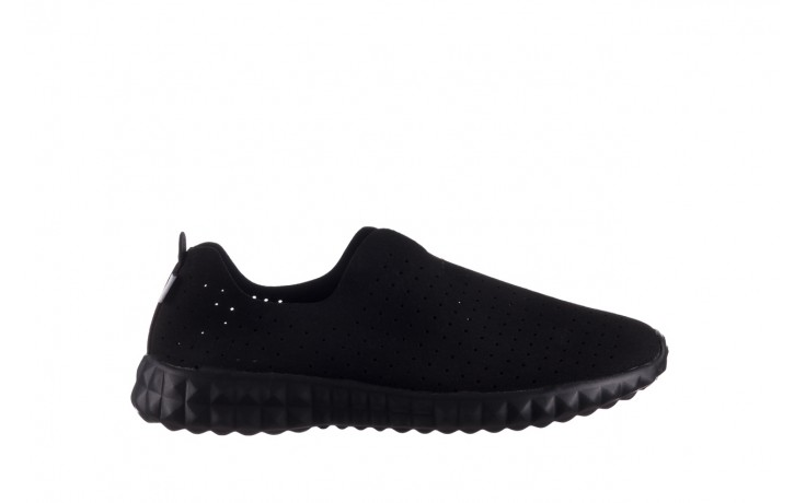 Półbuty rock mandalay black, czarny, materiał - półbuty - buty damskie - kobieta