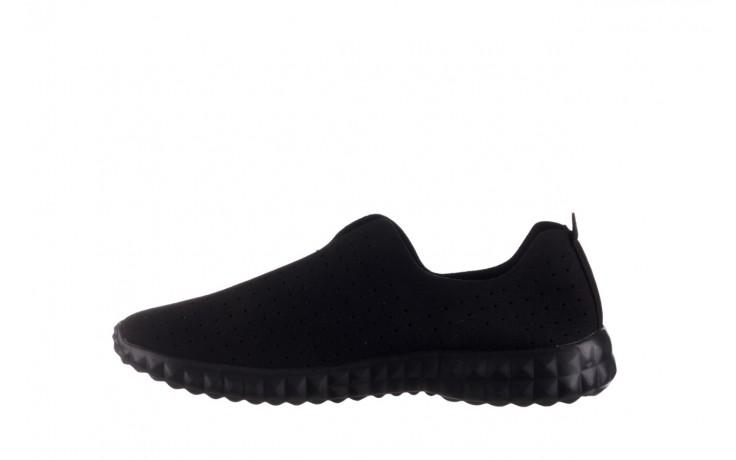 Półbuty rock mandalay black, czarny, materiał - półbuty - buty damskie - kobieta 2