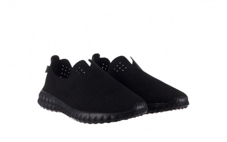 Półbuty rock mandalay black, czarny, materiał - półbuty - buty damskie - kobieta 1