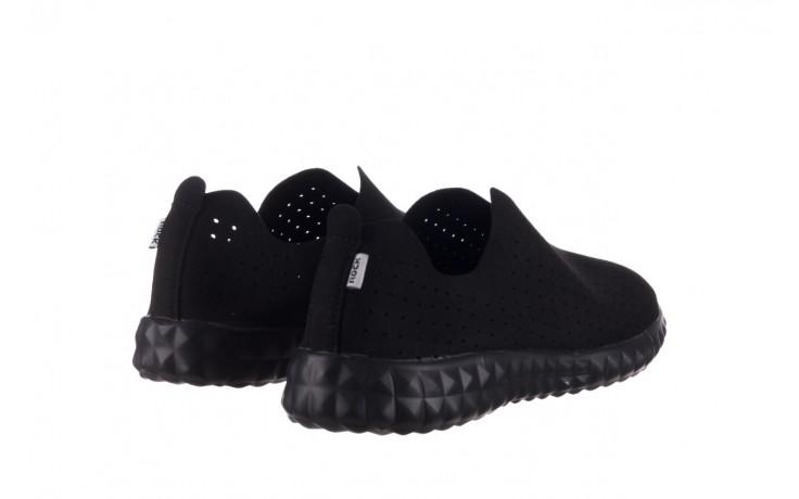 Półbuty rock mandalay black, czarny, materiał - półbuty - buty damskie - kobieta 3
