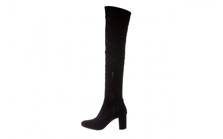 Kozaki bayla-130 4877 czarne kozaki muszkieterki, skóra ekologiczna - za kolano / muszkieterki - kozaki - buty damskie - kobieta 2