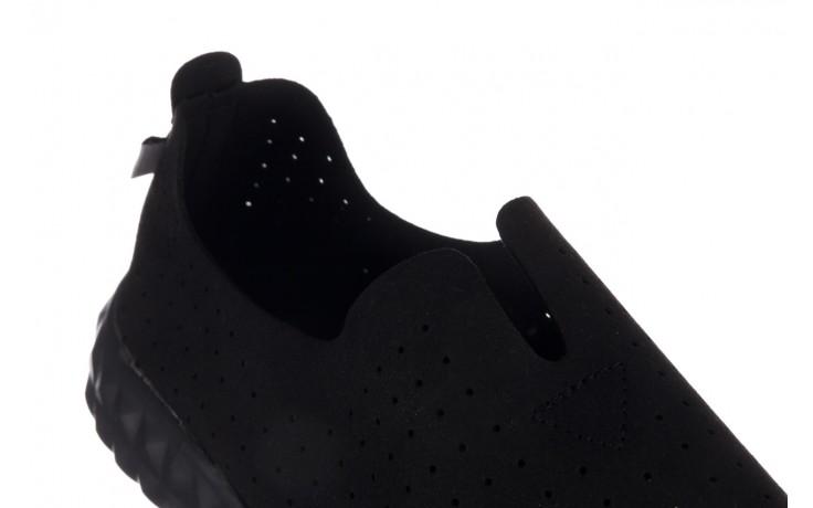 Półbuty rock mandalay black, czarny, materiał - półbuty - buty damskie - kobieta 6