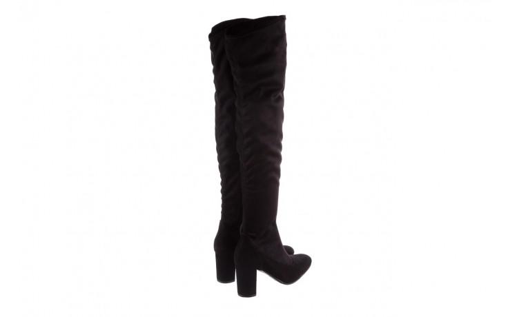 Kozaki bayla-130 4877 czarne kozaki muszkieterki, skóra ekologiczna - za kolano / muszkieterki - kozaki - buty damskie - kobieta 3
