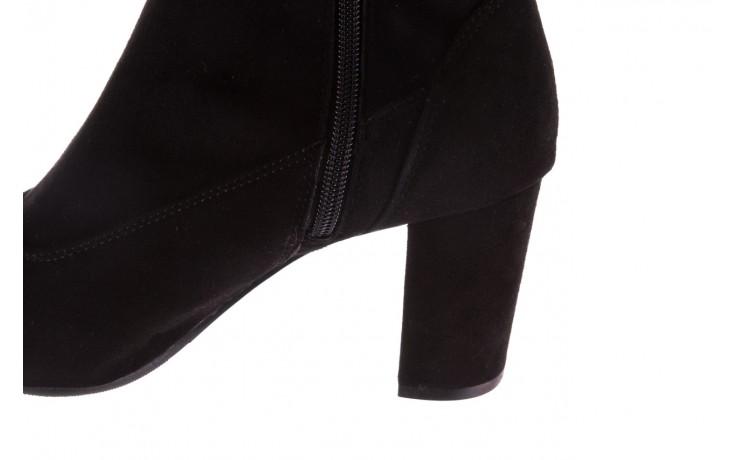 Kozaki bayla-130 4877 czarne kozaki muszkieterki, skóra ekologiczna - za kolano / muszkieterki - kozaki - buty damskie - kobieta 6