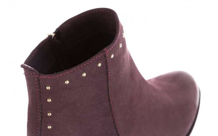 Botki bayla-170 2150 fioletowe botki, skóra naturalna - bayla - nasze marki 6