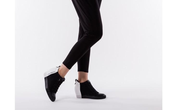 Calvin klein jeans rizzo denim black-off white - calvin klein jeans - nasze marki 6