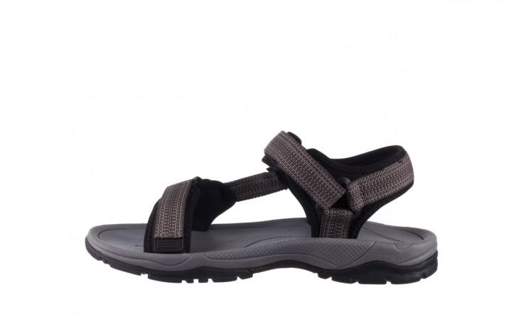 Sandały rock kern grey men, szary, materiał  - sandały - dla niego - sale 2