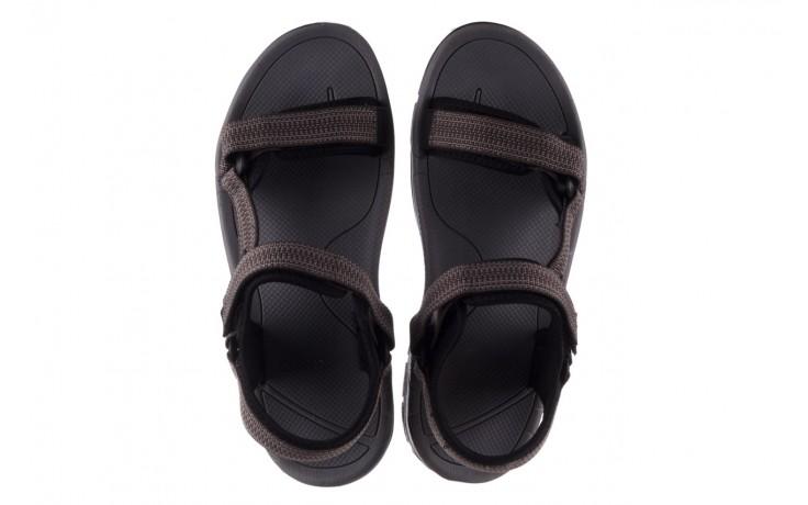 Sandały rock kern grey men, szary, materiał  - sandały - dla niego - sale 4
