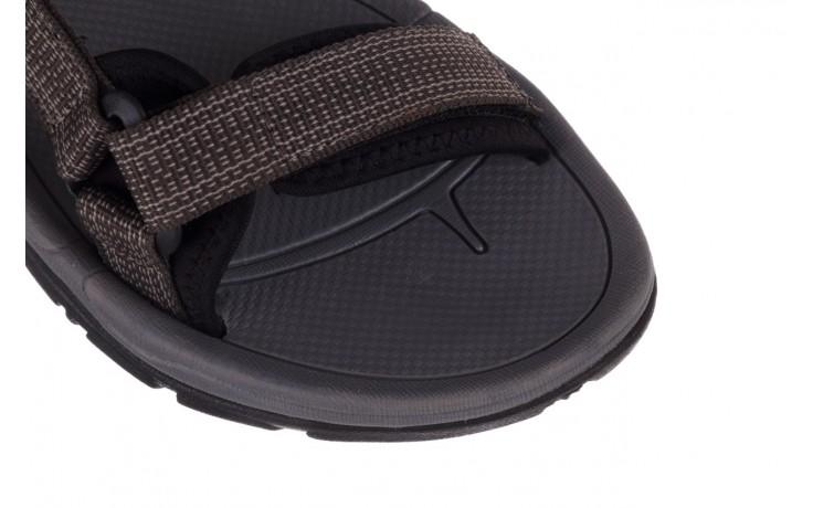 Sandały rock kern grey men, szary, materiał  - sandały - dla niego - sale 5