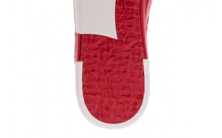 Trampki john doubare m8191-3 red, czerwony, skóra naturalna  - brooman - nasze marki 6