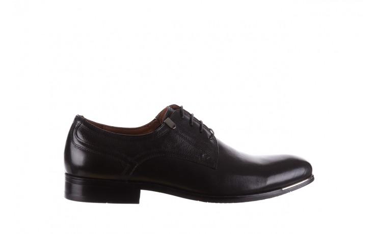 Półbuty brooman h8070-12-04 black, czarny, skóra naturalna - brooman - nasze marki
