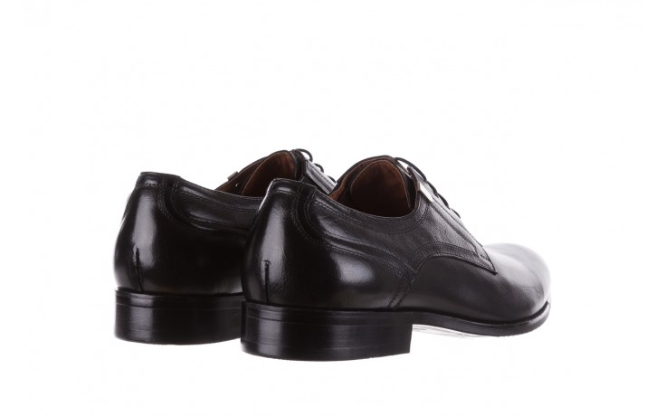 Półbuty brooman h8070-12-04 black, czarny, skóra naturalna - brooman - nasze marki 3