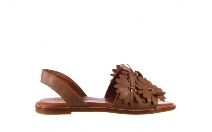 Sandały bayla-190 285 631 530, brąz, skóra naturalna  - płaskie - sandały - buty damskie - kobieta