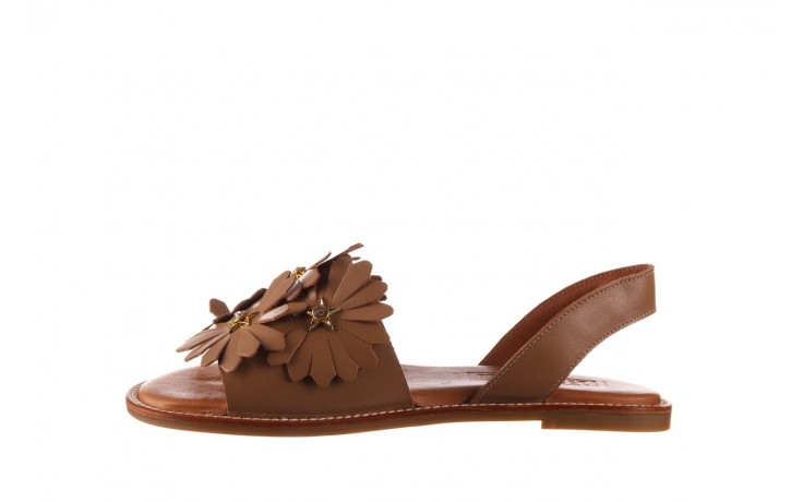 Sandały bayla-190 285 631 530, brąz, skóra naturalna  - płaskie - sandały - buty damskie - kobieta 2