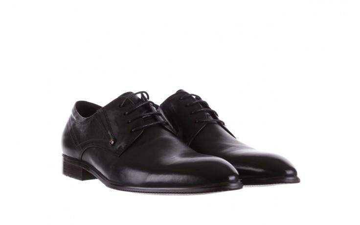 Półbuty brooman b-545 black, czarny, skóra naturalna - bayla exclusive - trendy - mężczyzna 1