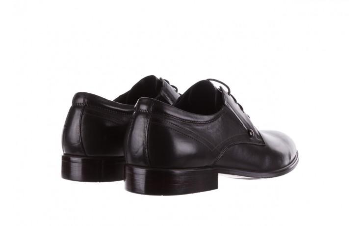 Półbuty brooman b-545 black, czarny, skóra naturalna - bayla exclusive - trendy - mężczyzna 3