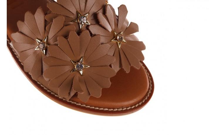 Sandały bayla-190 285 631 530, brąz, skóra naturalna  - płaskie - sandały - buty damskie - kobieta 5