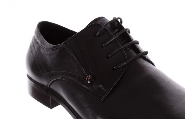 Półbuty brooman b-545 black, czarny, skóra naturalna - bayla exclusive - trendy - mężczyzna 5