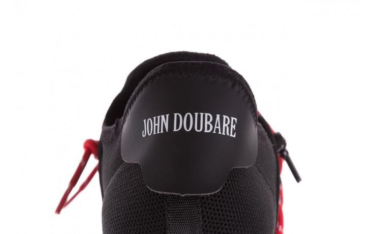 Trampki john doubare m17816-1 black, czarny, materiał  - mężczyzna 7