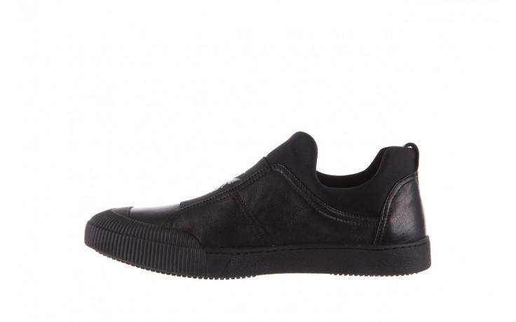 Trampki john doubare s8016-f37517-1 black, czarny, skóra naturalna - bayla exclusive - trendy - mężczyzna 2