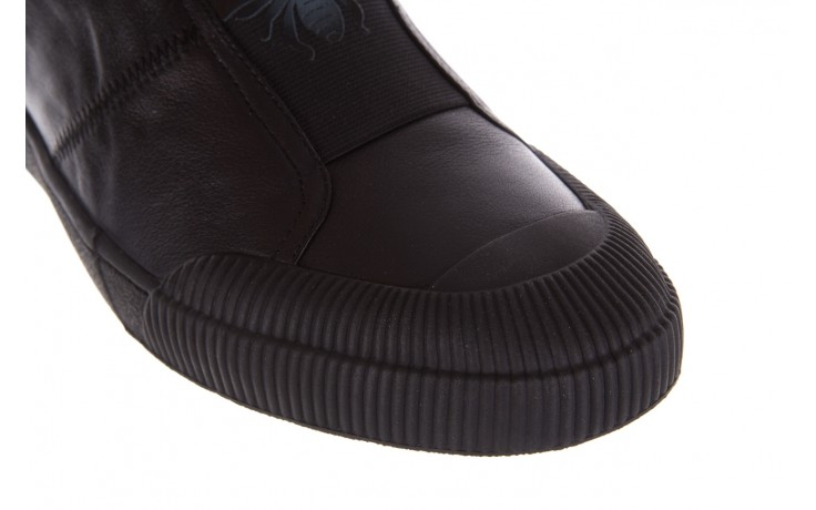 Trampki john doubare s8016-f37517-1 black, czarny, skóra naturalna - brooman - nasze marki 5