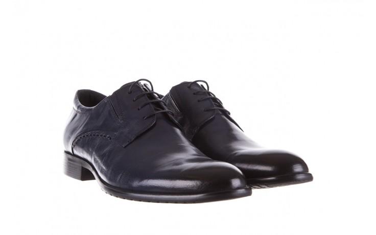 Półbuty brooman a218-101-a187 blue, granat, skóra naturalna  - bayla exclusive - trendy - mężczyzna 1