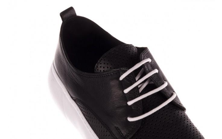 Trampki bayla-190 102 12502 black siyah, czarny, skóra naturalna  - kobieta 5