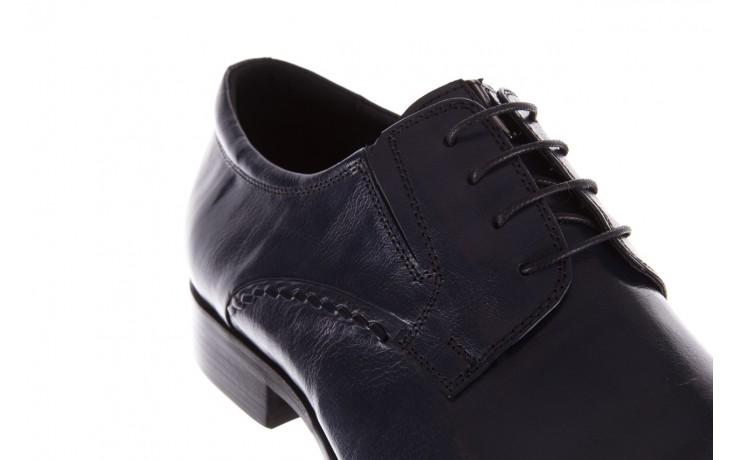 Półbuty brooman a218-101-a187 blue, granat, skóra naturalna  - bayla exclusive - trendy - mężczyzna 5
