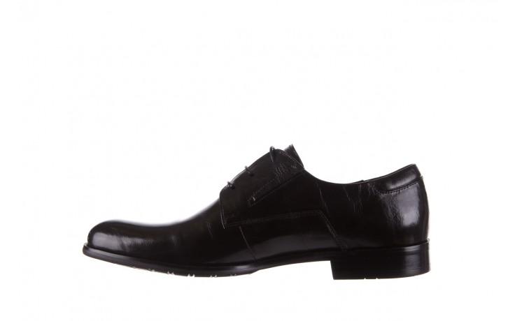 Półbuty brooman 53205a black, czarny, skóra naturalna  - mężczyzna 2