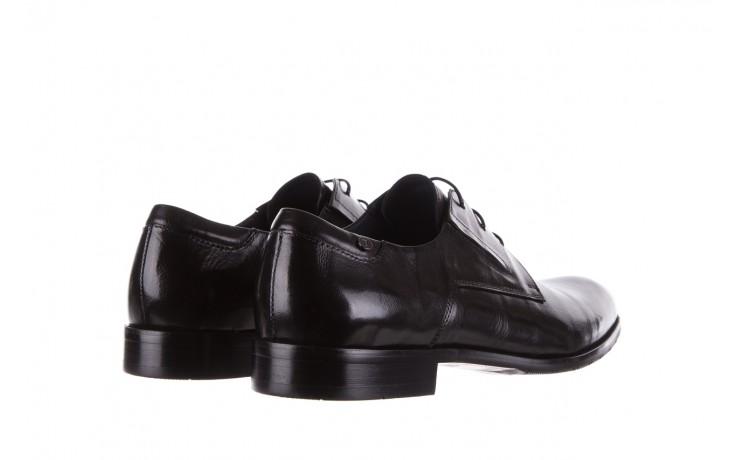 Półbuty brooman 53205a black, czarny, skóra naturalna  - mężczyzna 3