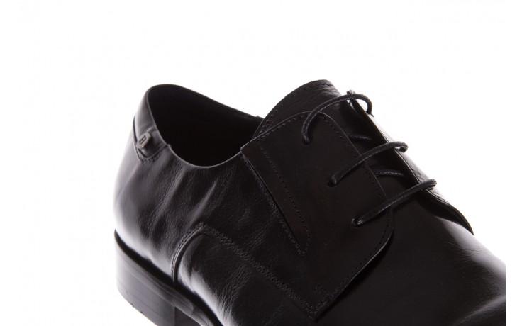 Półbuty brooman 53205a black, czarny, skóra naturalna  - mężczyzna 5