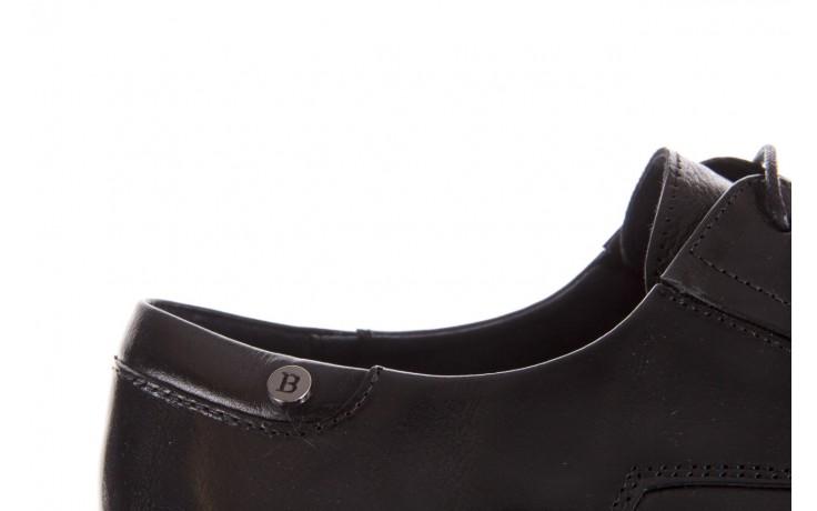 Półbuty brooman 53205a black, czarny, skóra naturalna  - mężczyzna 6