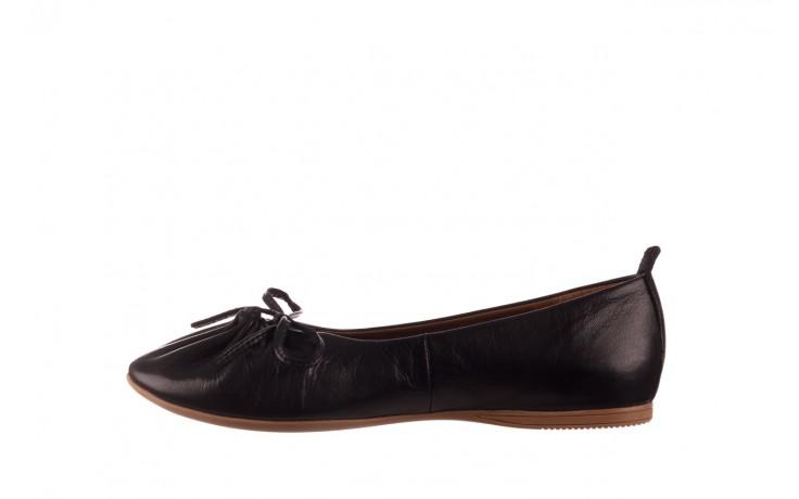 Baleriny bayla-190 757 336k-715 black, czarny, skóry naturalna  - baleriny - dla niej  - sale 2