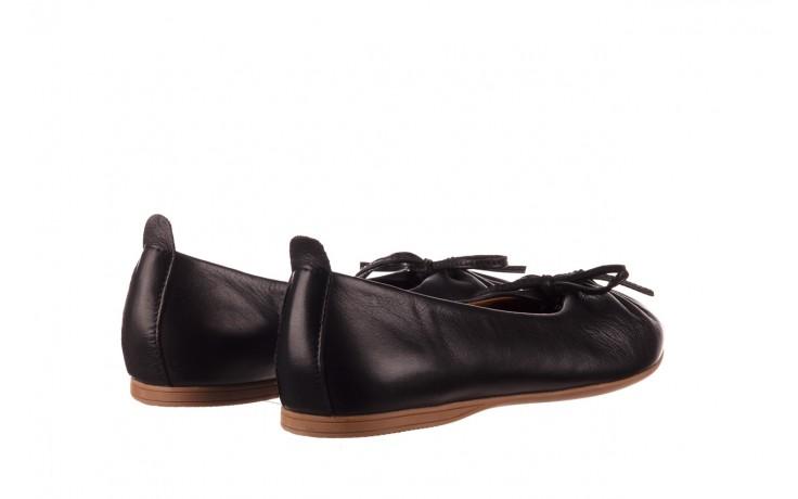 Baleriny bayla-190 757 336k-715 black, czarny, skóry naturalna  - baleriny - dla niej  - sale 3