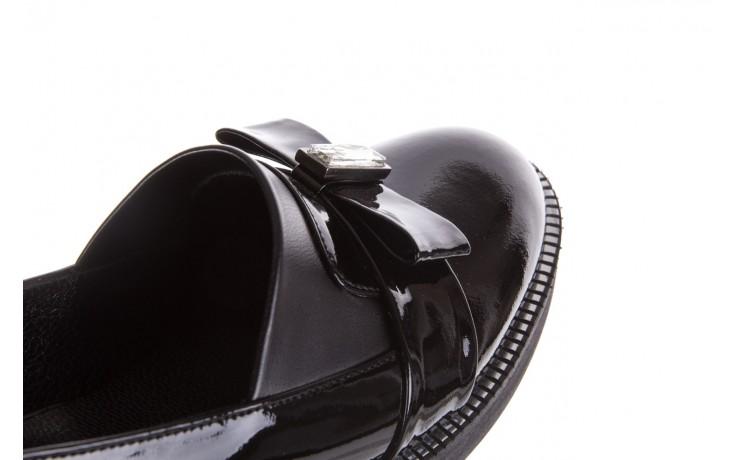 Półbuty bayla-179 500 czarne półbuty, skóra naturalna lakierowana - bayla - nasze marki 6