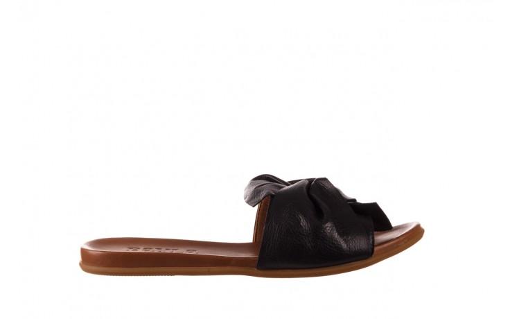 Klapki bayla-190 063 9n0802 black siyah, czarny, skóra naturalna  - klapki - buty damskie - kobieta