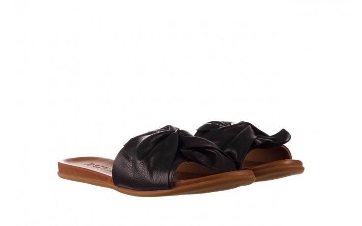 Klapki bayla-190 063 9n0802 black siyah, czarny, skóra naturalna  - klapki - buty damskie - kobieta 1