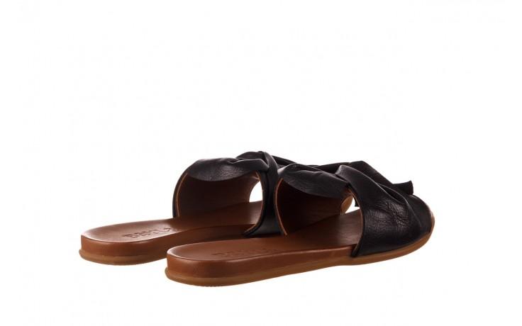Klapki bayla-190 063 9n0802 black siyah, czarny, skóra naturalna  - klapki - buty damskie - kobieta 3