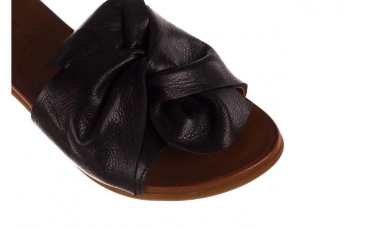 Klapki bayla-190 063 9n0802 black siyah, czarny, skóra naturalna  - klapki - buty damskie - kobieta 5