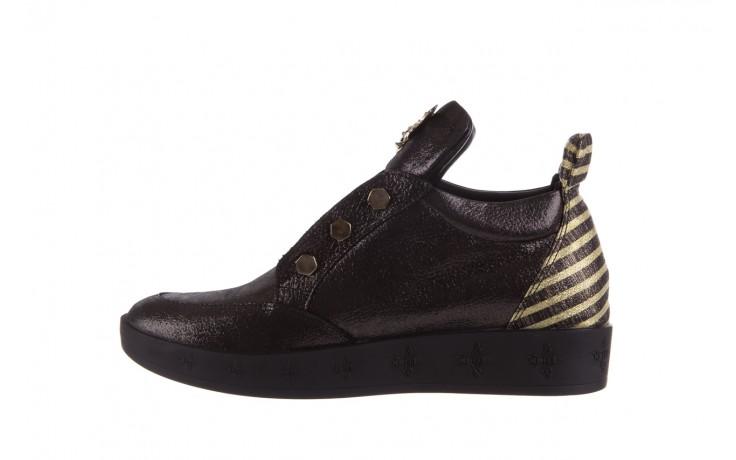 Trampki bayla-179 922 czarne trampki, skóra naturalna  - niskie - trampki - buty damskie - kobieta 2