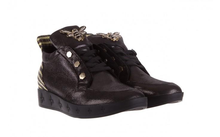 Trampki bayla-179 922 czarne trampki, skóra naturalna  - niskie - trampki - buty damskie - kobieta 1