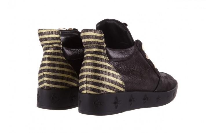 Trampki bayla-179 922 czarne trampki, skóra naturalna  - niskie - trampki - buty damskie - kobieta 3