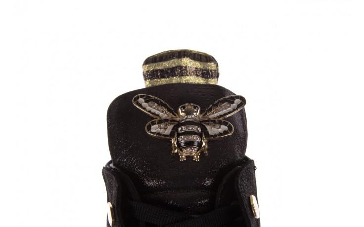 Trampki bayla-179 922 czarne trampki, skóra naturalna  - niskie - trampki - buty damskie - kobieta 5