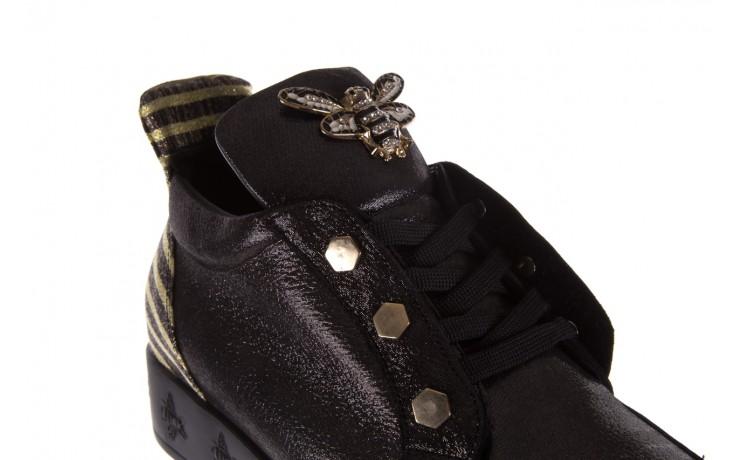 Trampki bayla-179 922 czarne trampki, skóra naturalna  - niskie - trampki - buty damskie - kobieta 6