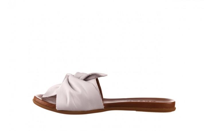 Klapki bayla-190 063 9n0802 white beyaz, biały, skóra naturalna  - klapki - buty damskie - kobieta 2