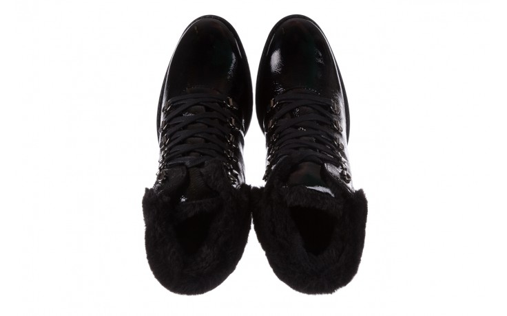 Trzewiki imac 205700 black czarny, skóra naturalna lakierowana - imac  - nasze marki 4