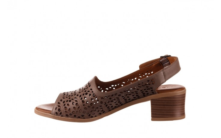 Sandały bayla-190 409 243 20, beż, skóra naturalna  - skórzane - sandały - buty damskie - kobieta 2
