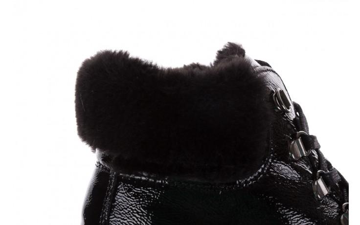 Trzewiki imac 205700 black czarny, skóra naturalna lakierowana - imac  - nasze marki 6